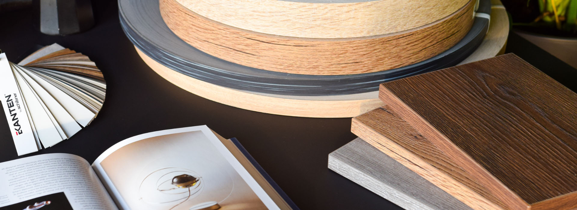 EKANTEN: our new collection of edgebands dedicated to Egger laminated boards is already available